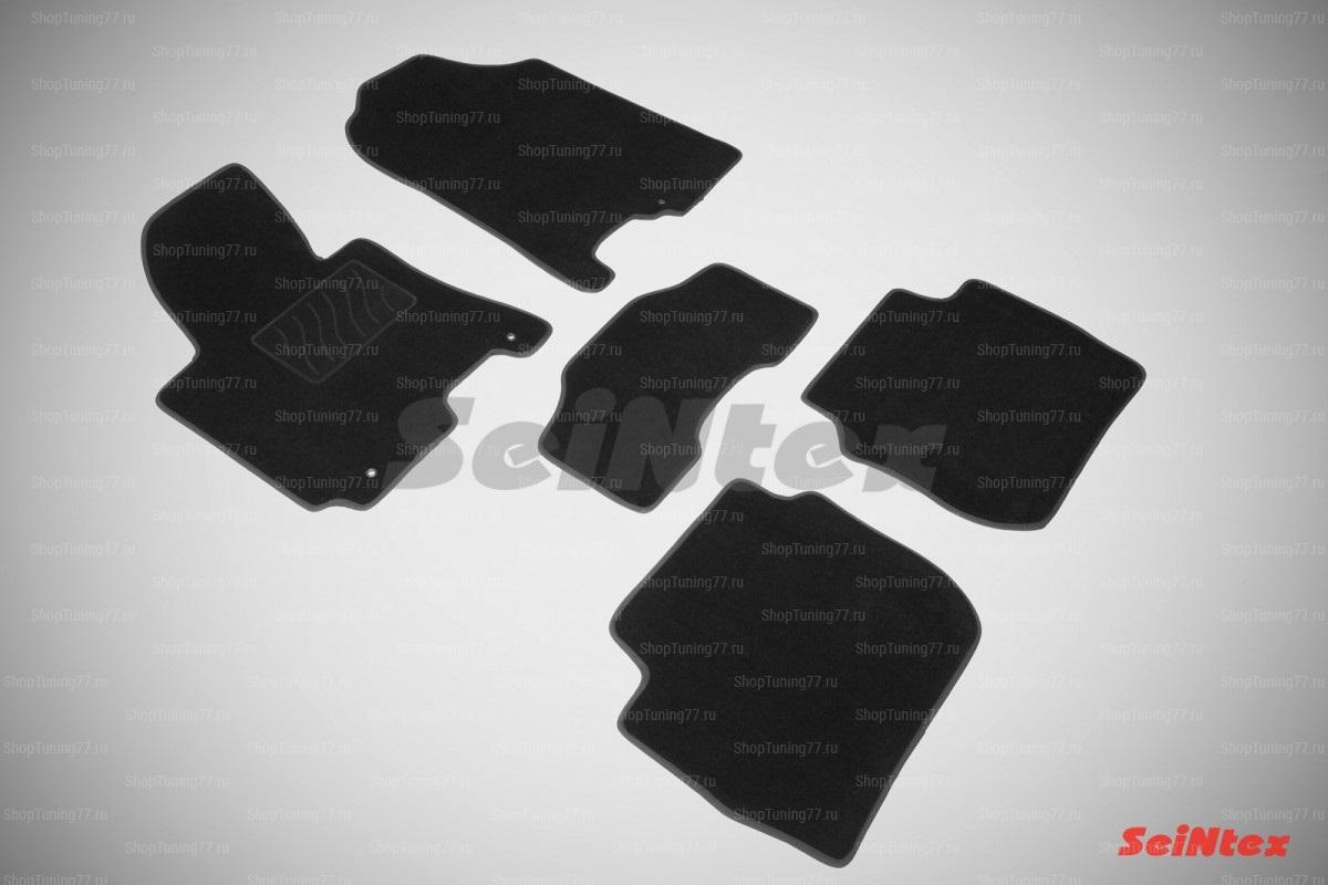 Ворсовые коврики LUX для Kia Cerato III (2013-2017)