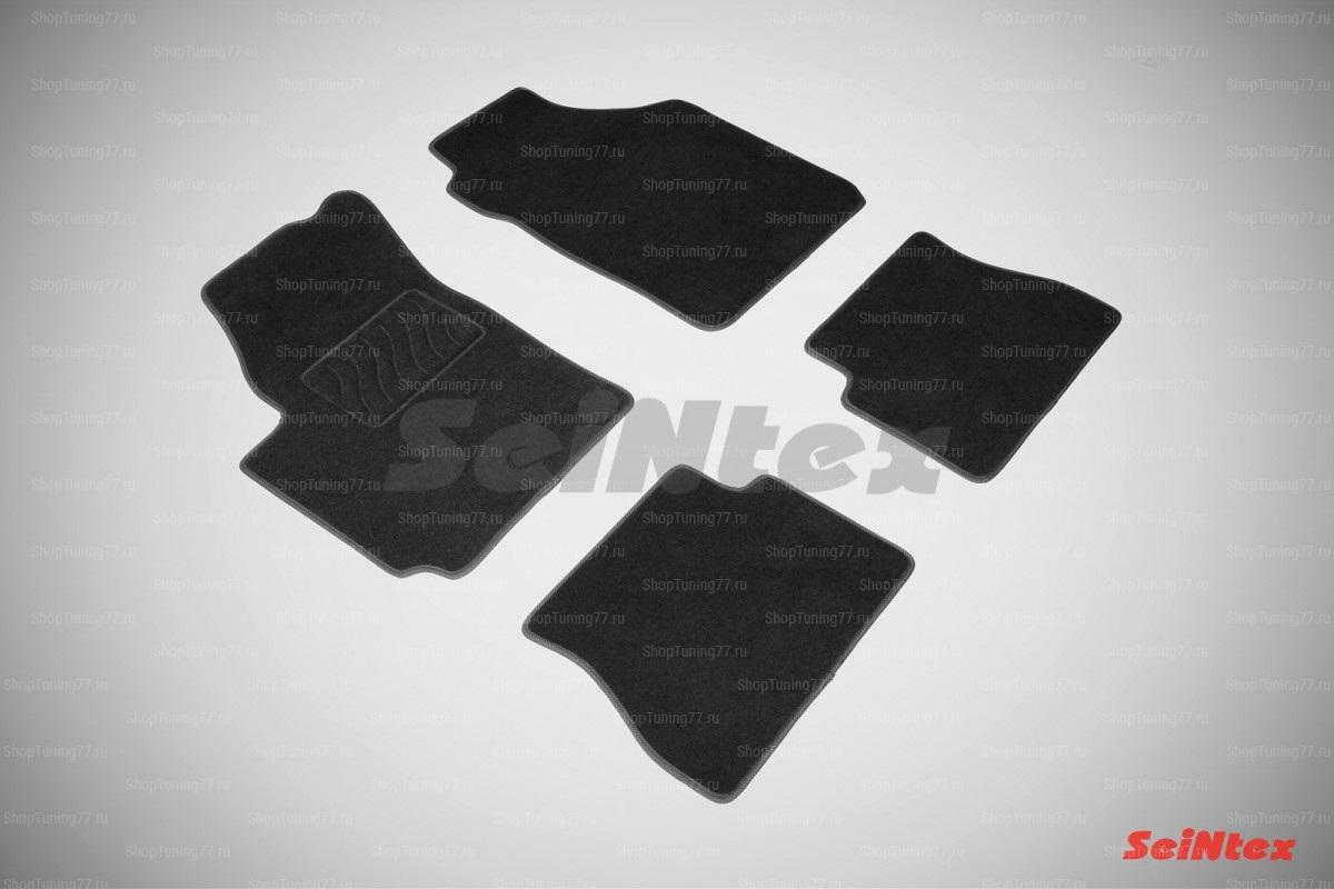 Ворсовые коврики LUX для Kia Picanto (2005-2011)