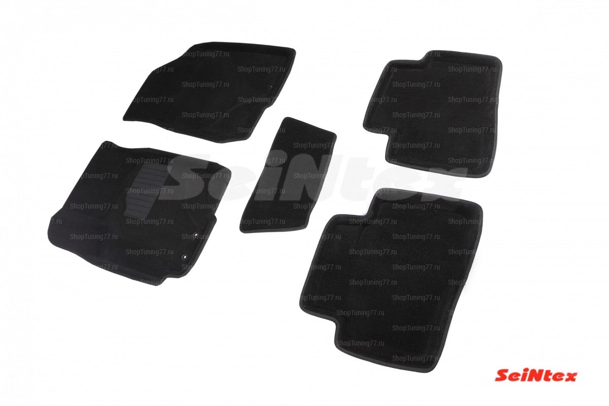 Ворсовые 3D коврики Kia Cerato II (2009-2013)