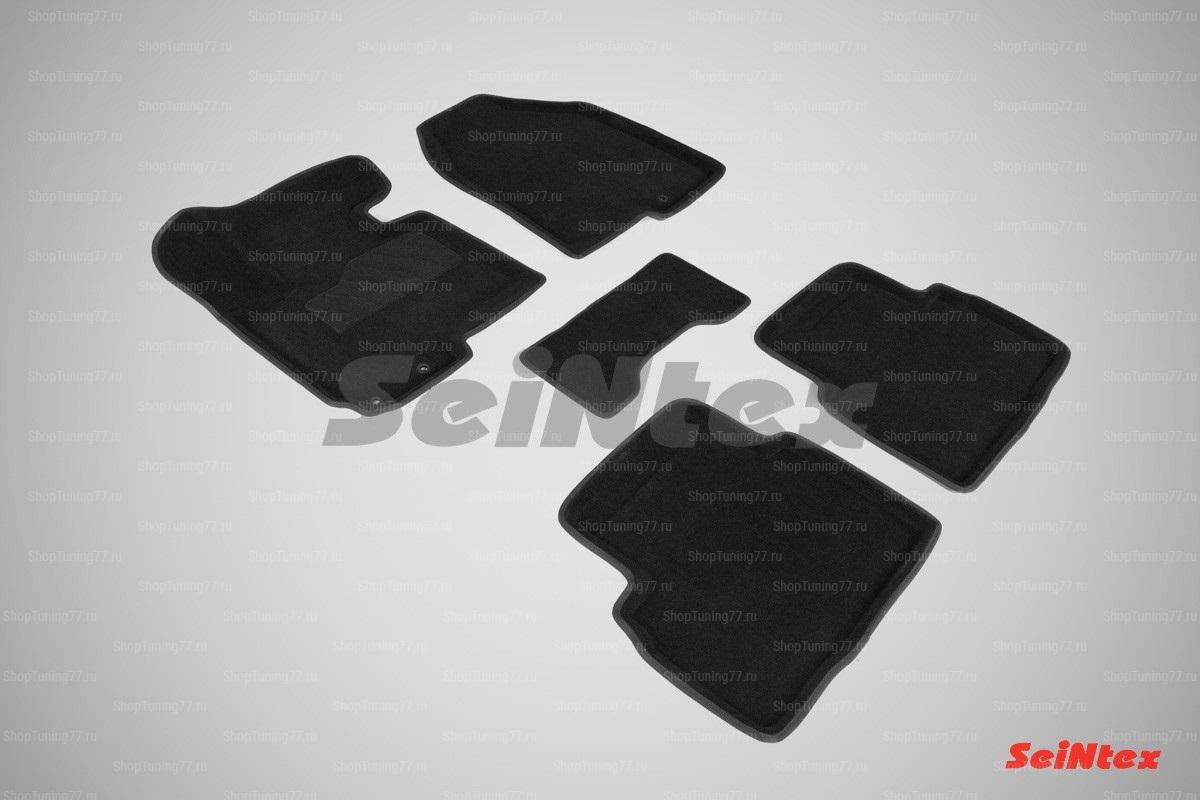 Ворсовые 3D коврики Kia Sportage III (2010-2015)