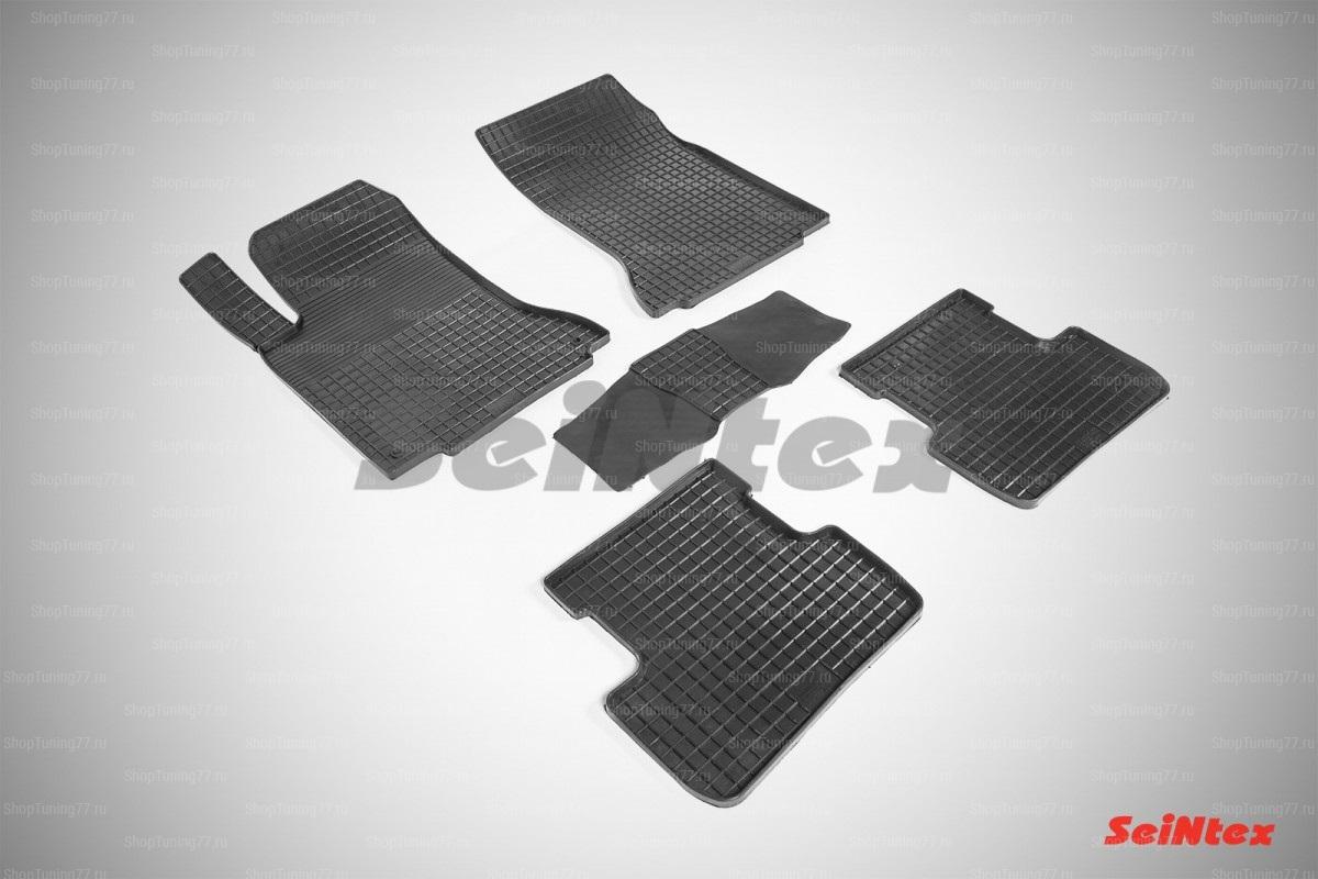 Резиновые коврики сетка для Mercedes Benz B-Class w246 (2014-)