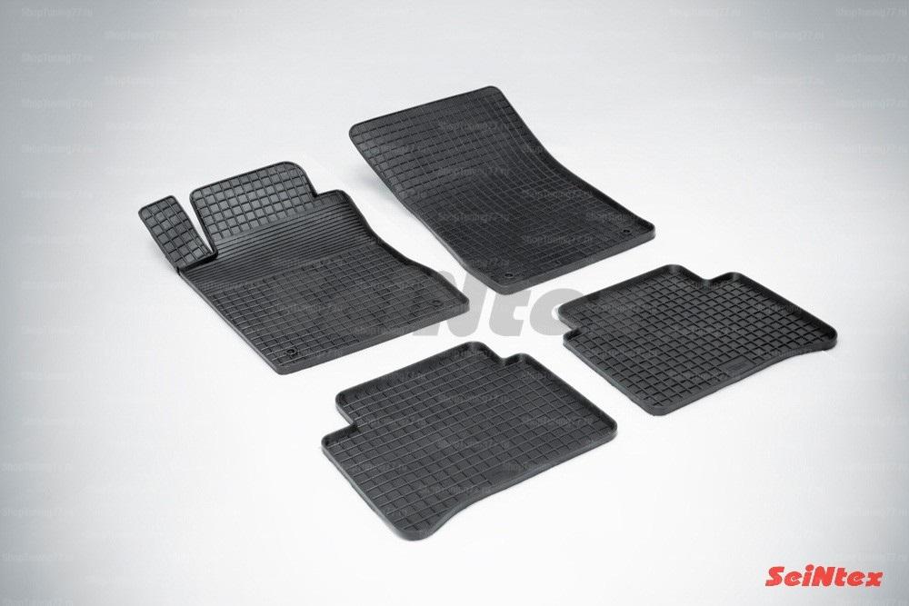 Резиновые коврики сетка для Mercedes Benz E-Class w211 (2002-2006)