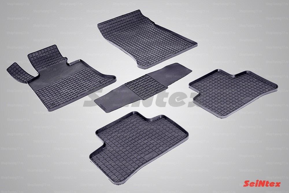 Резиновые коврики сетка для Mercedes Benz GLK-Class x204 (2008-)