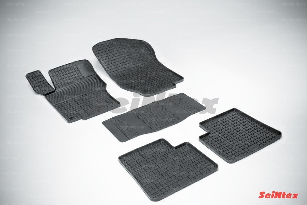 Резиновые коврики сетка для Mercedes Benz M-Class w164 (2005-2012)