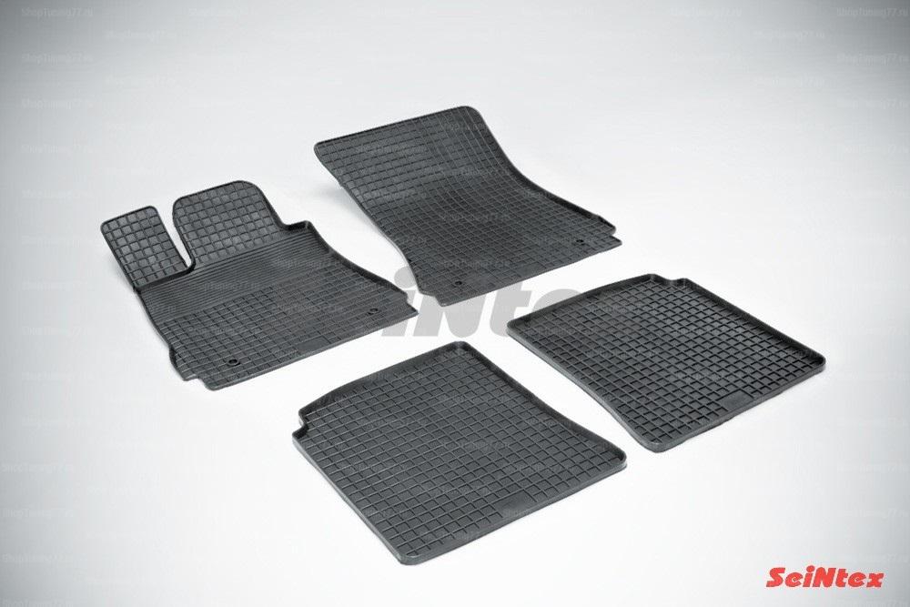 Резиновые коврики сетка для Mercedes Benz S-Class w221 L (2005-2014)