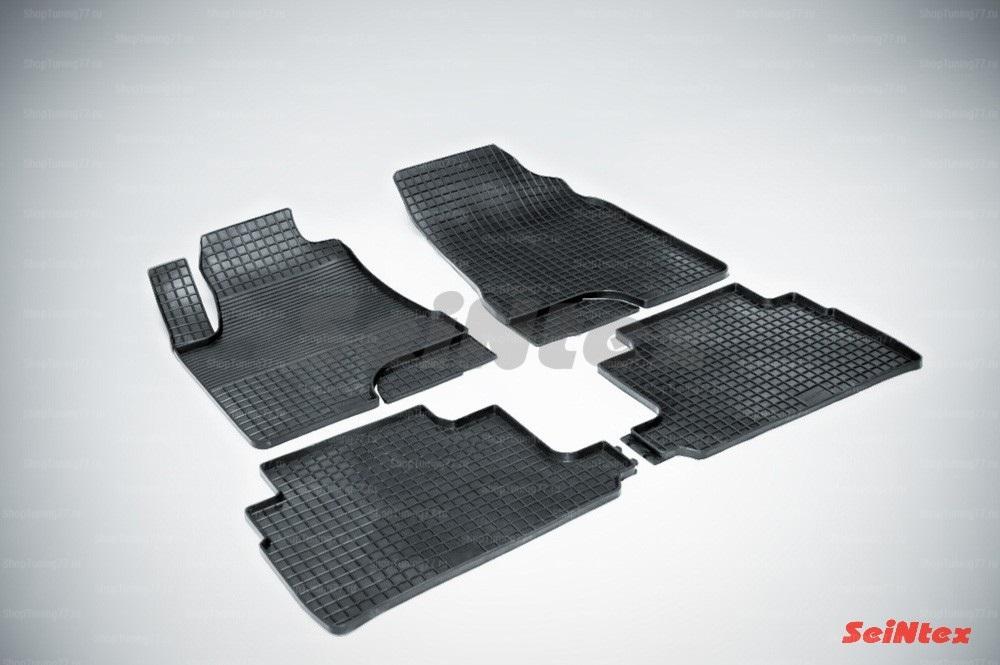 Резиновые коврики сетка для Lexus RX II (2003-2008) кроме версий с гибридным двигателем
