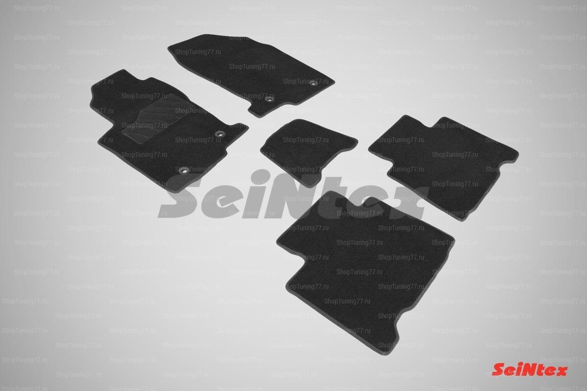 Ворсовые коврики LUX для Lexus NX (2014-) кроме версий с гибридным двигателем