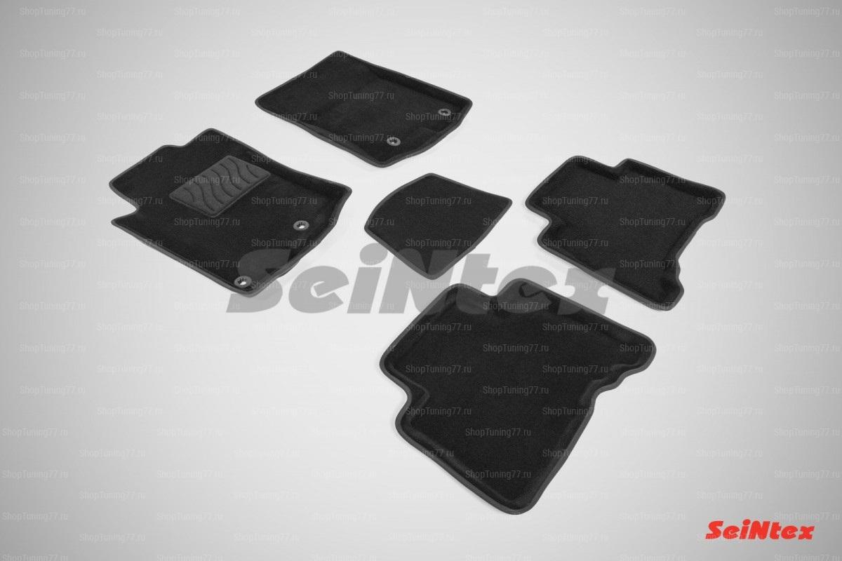 Ворсовые 3D коврики Lexus GX460 (2009-2013)