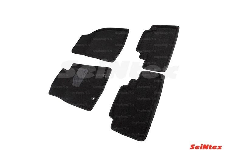 Ворсовые 3D коврики Lexus RX III (2009-2015) кроме версий с гибридным двигателем