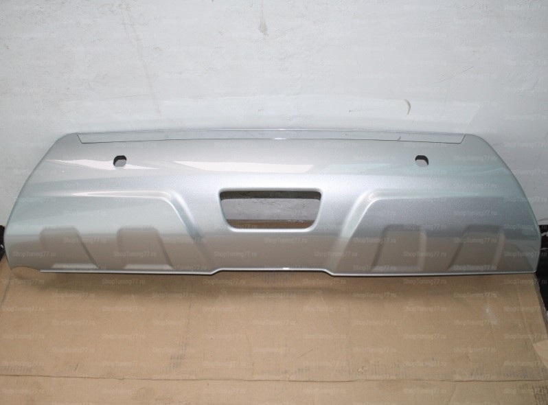 Комплект накладок переднего и заднего бамперов, ABS пластик для NISSAN X-Trail (T32)