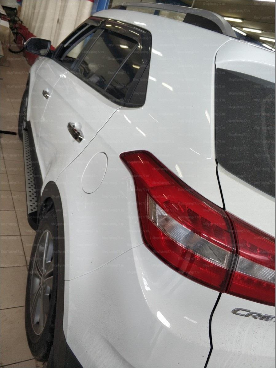 Пороги BMW стайл Hyundai Creta (2016-)