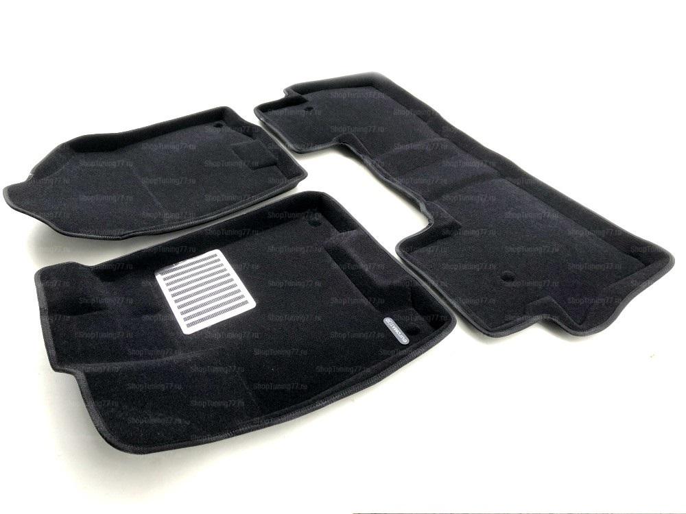 Текстильные 3D Коврики Euromat В Салон Для ACURA MDX (2014-) № EM3D-000002