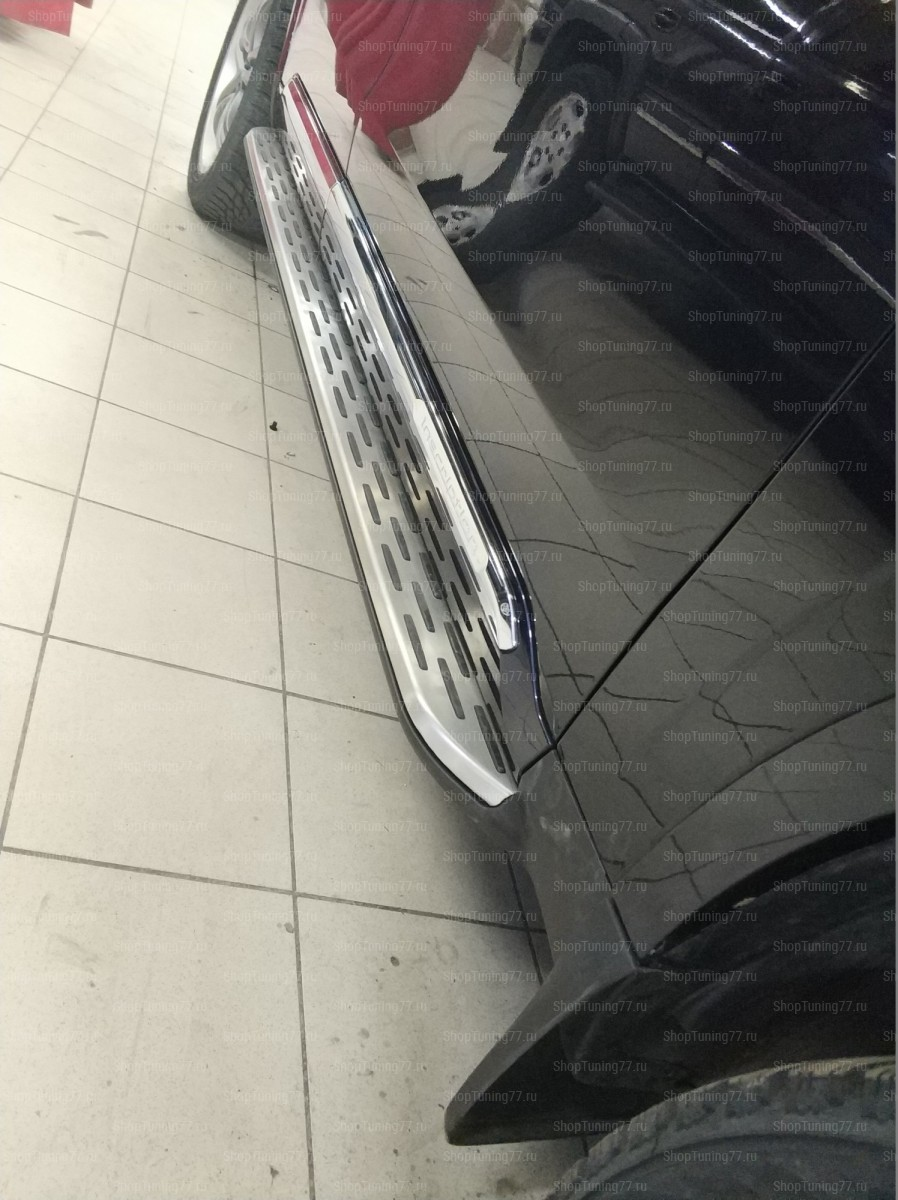 Пороги Volvo XC-90 в грунте под покраску