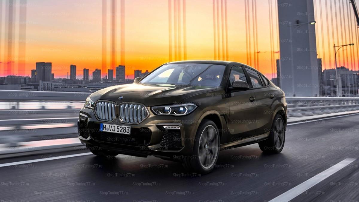 Пороги BMW X6 III (G06) 2019-