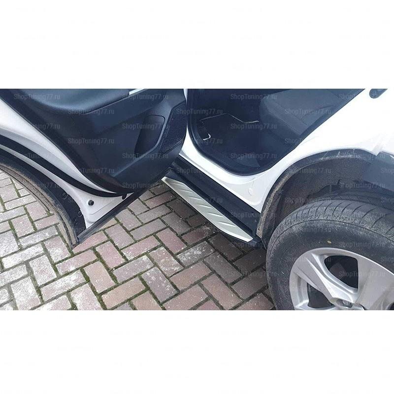 Пороги подножки Toyota RAV4 (2018-)