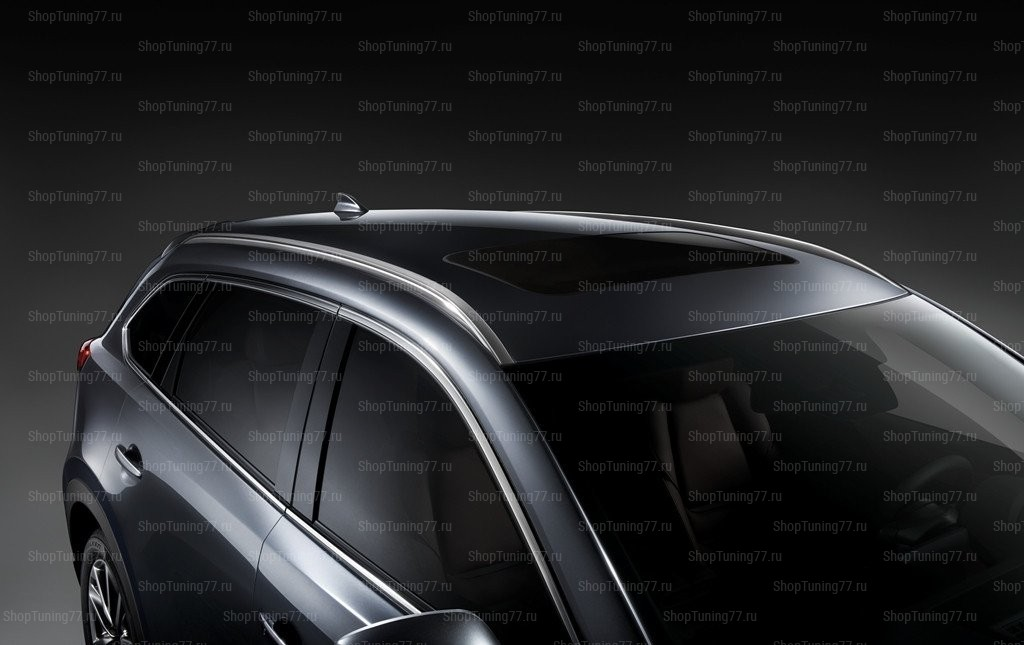Рейлинги на крышу серебро Mazda CX-9 II