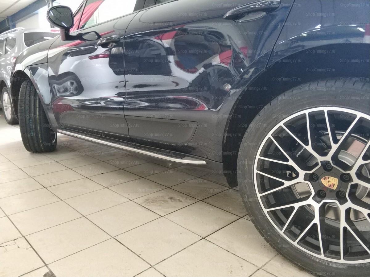 Пороги Porsche Macan