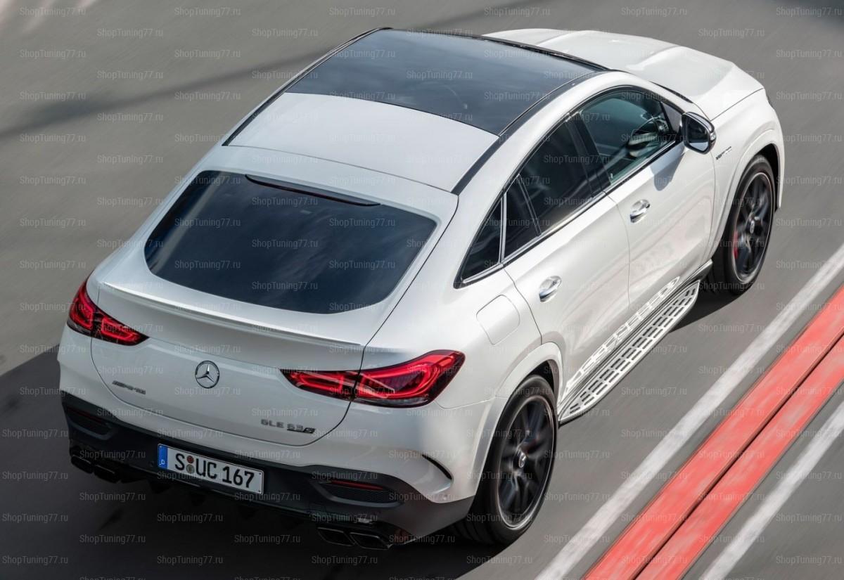 Пороги Mercedes-Benz GLE Coupe II (C167)