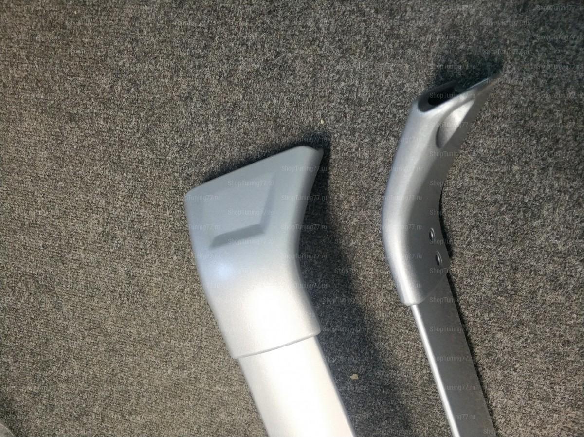 Поперечные крепления (серебристые) на рейлинги Mazda CX-5 (2017-)