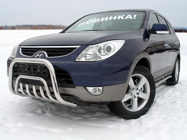 Защита передняя (кенгурин) 60,3/42,4 мм Hyundai IX55