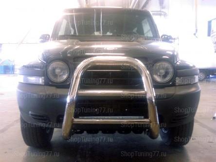 Отбойник без защиты  76 мм Hyundai Tager (Таганрог)