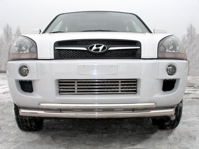 Решётка радиатора Hyundai Tucson