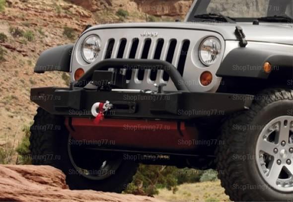 Cиловой бампер Jeep Wrangler 5 doors (2007-)