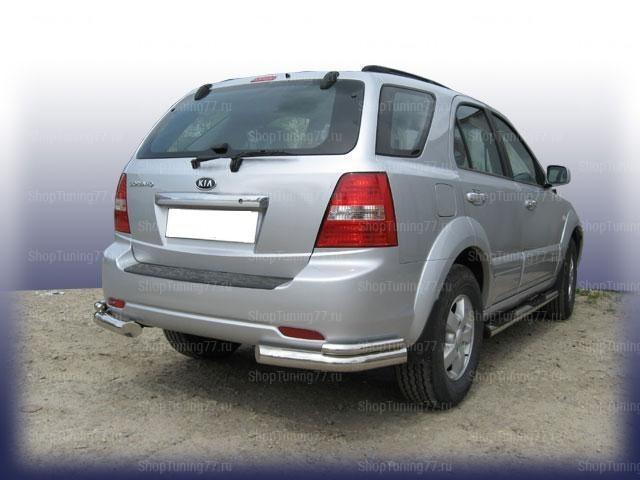 Уголки задние ф76+ф57 Kia Sorento (2006-)
