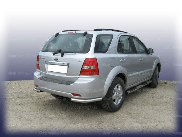 Уголки задние ф57 Kia Sorento (2006-)