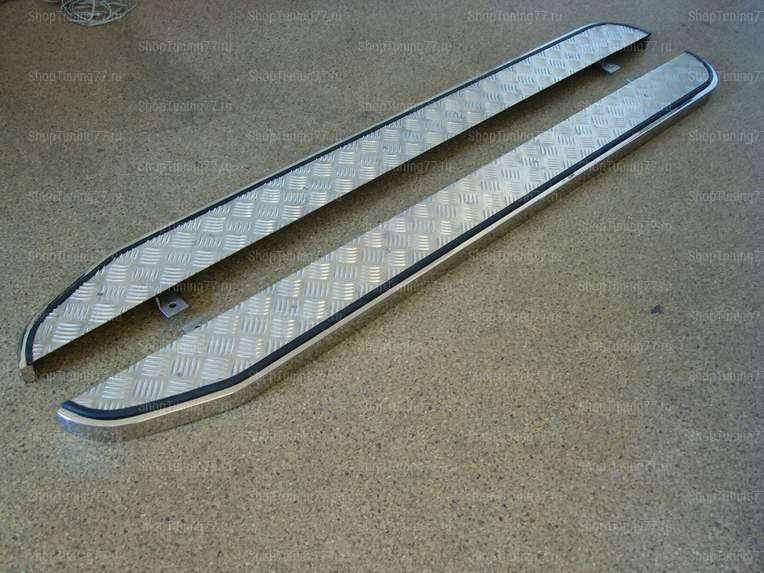 Пороги с накладкой лист 2040 Kia Sorento (2006-)