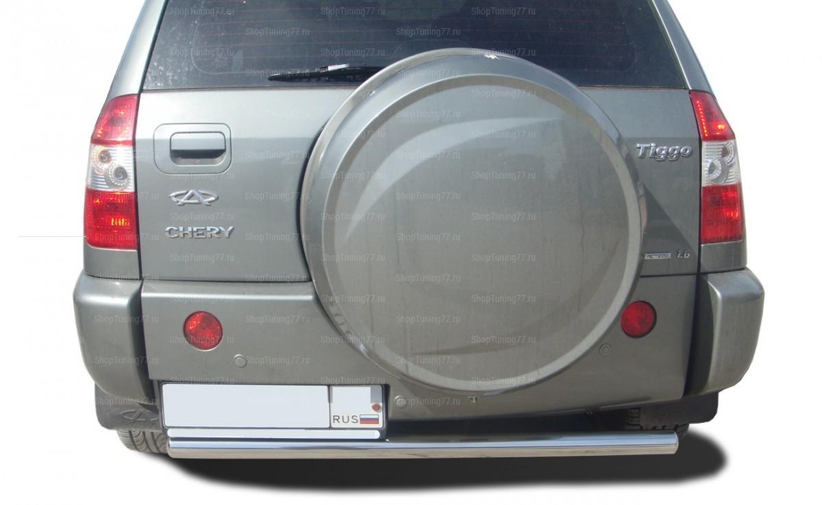 Защита заднего бампера 60 мм Chery Tiggo (2012-)