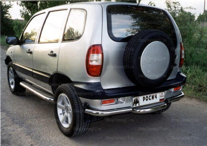 Ступенька заднего бампера Chevrolet Niva