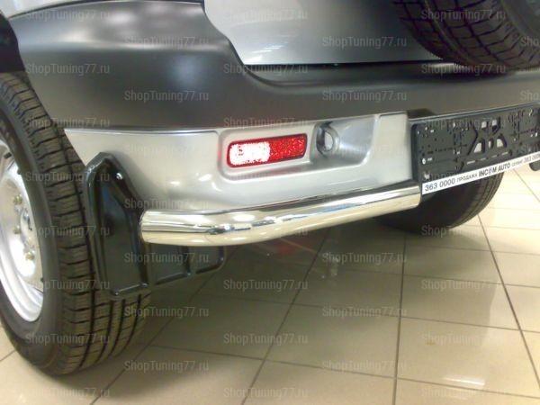 Защита задняя уголки Chevrolet Niva
