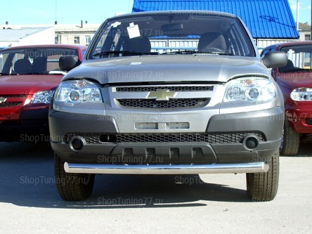 Защита переднего бампера 60 мм Chevrolet Niva (2009-)