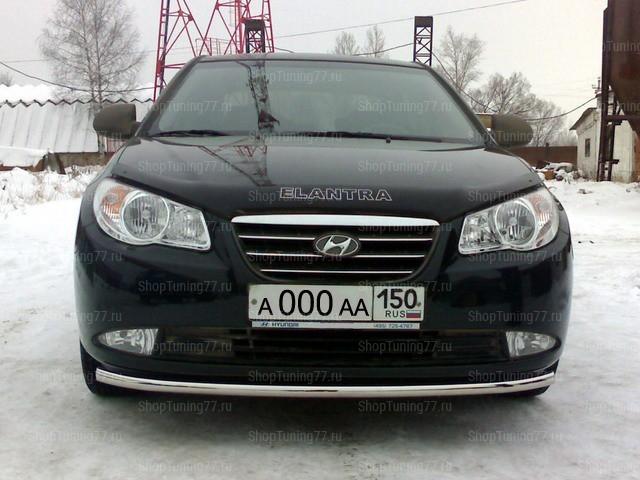 Защита передняя нижняя 42,4 мм Hyundai Elantra