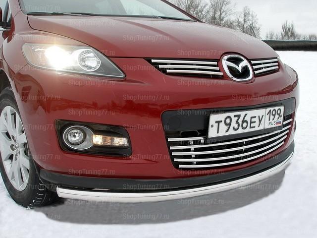 Защита передняя нижняя 60 мм Mazda CX-7