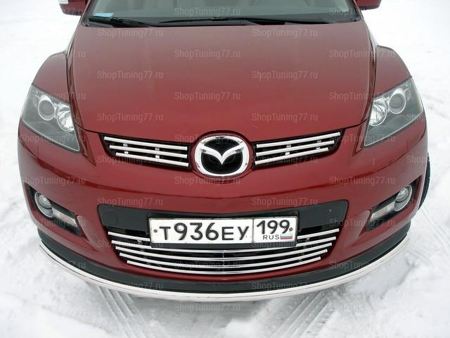 Решетка радиатора нижняя 16 мм Mazda CX-7