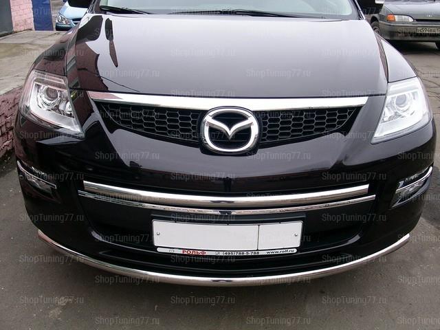 Защита передняя нижняя 76,1 мм Mazda CX-9
