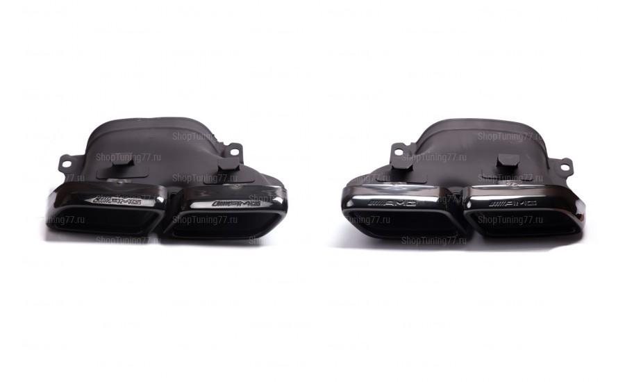 Насадки 63 AMG Mercedes GLE W166 черные