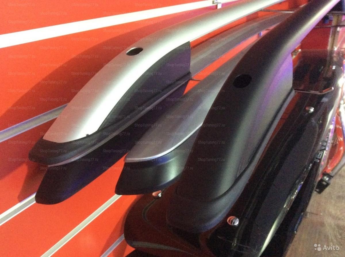 Рейлинги продольные серебристые на Mitsubishi ASX