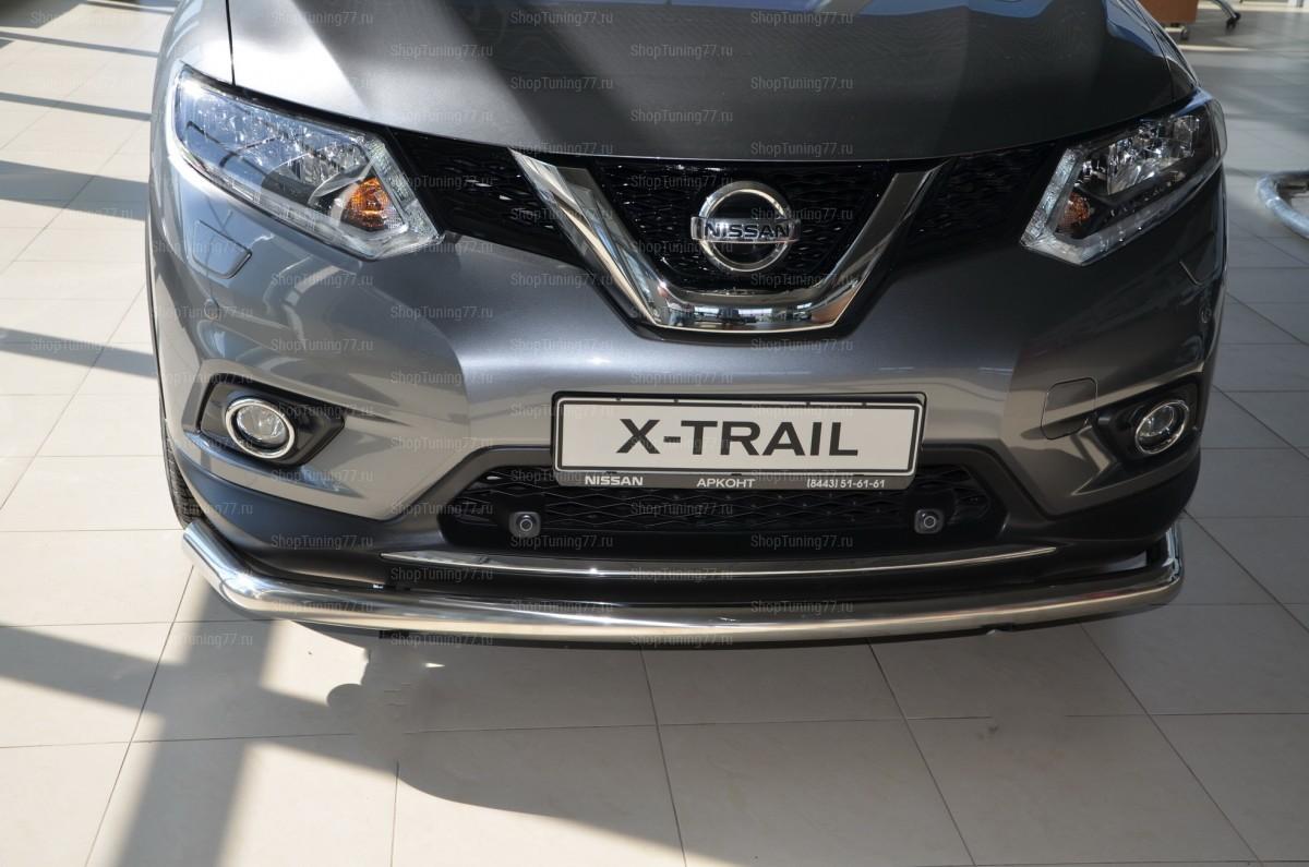 Защита переднего бампера Nissan X-trail Nissan X-Trail (2015-)