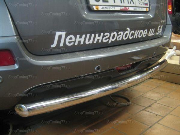 Защита задняя труба 60 мм Renault Koleos