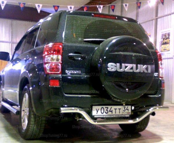 Защита заднего бампера 3дв. 53 мм Suzuki Grand Vitara (2005-)