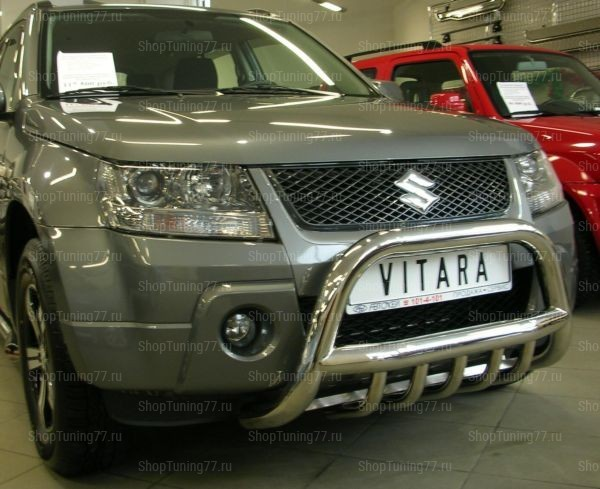 Отбойник с защитой картера 76 мм Suzuki Grand Vitara (2008-)