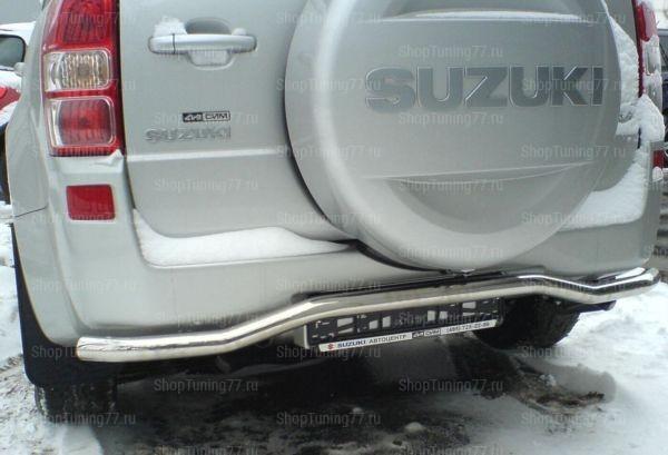 Защита заднего бампера 5дв. (волна) 53 мм Suzuki Grand Vitara (2008-)