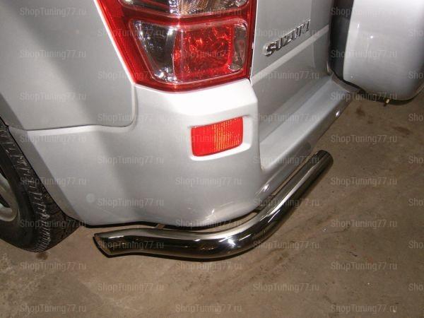 Защита задняя (уголки) 60 мм Suzuki Grand Vitara (2008-)