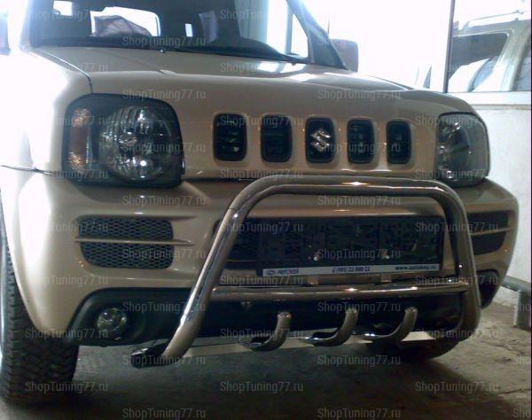 Отбойник с защитой картера 53 мм Suzuki Jimny