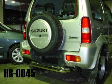 Ступенька заднего бампера Suzuki Jimny