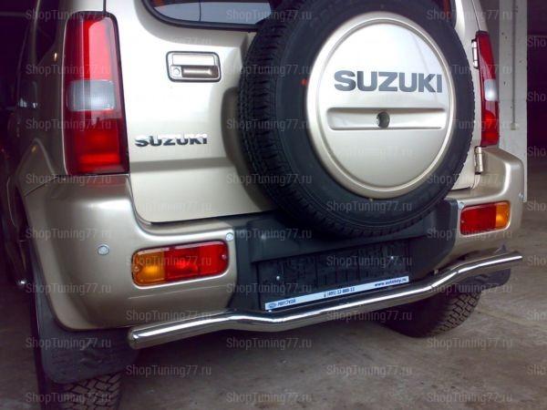 Защита заднего бампера 53мм Suzuki Jimny