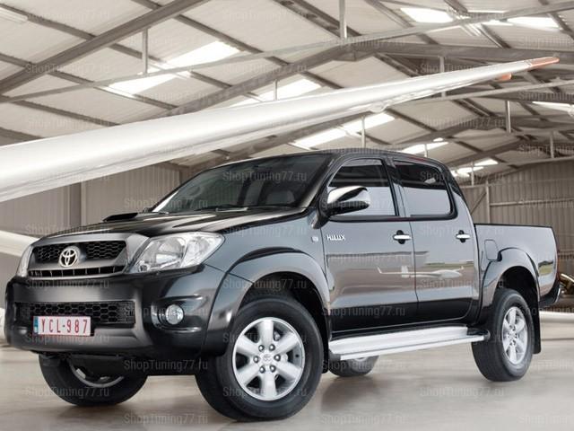 Расширители колёсных арок Toyota Hilux (2010)